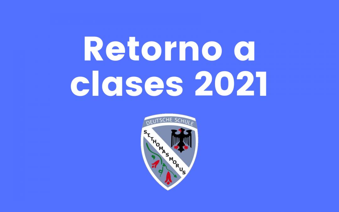 Retorno a clases 2021