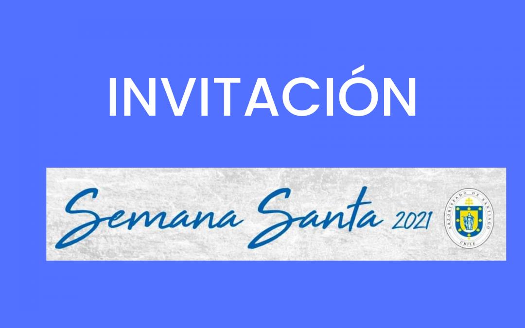 INVITACIÓN SEMANA SANTA