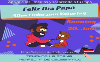 Celebra el día del padre y ayuda a los primeros medios.