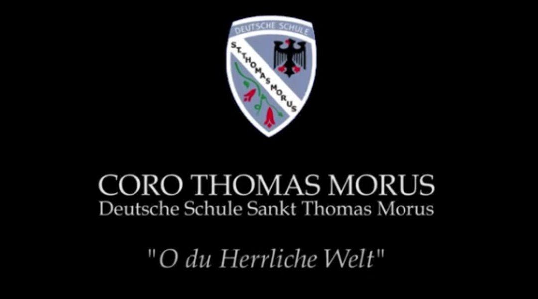 El coro de apoderados Thomas Morus comparte su primer video 2021