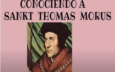 Sankt  Thomas Morus, un ejemplo para nuestros días