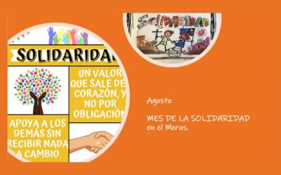Celebramos el mes de la solidaridad en honor a San Alberto Hurtado